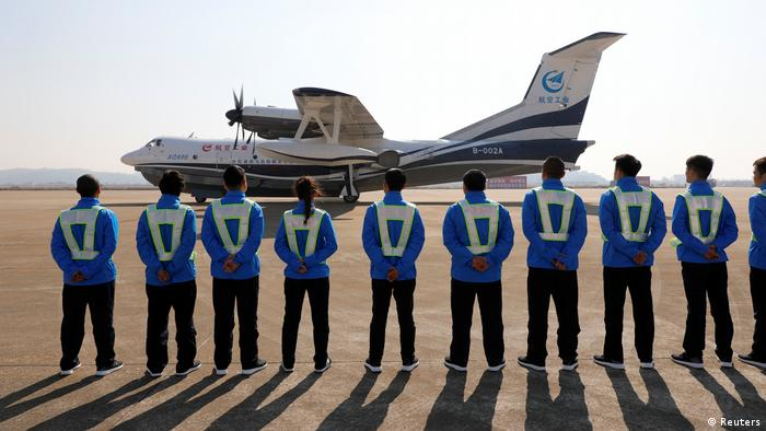 China AG600 Amphibienflugzeug (Reuters)