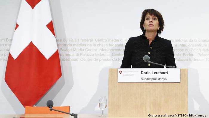 Švicarska predsjednica Doris Leuthard