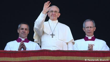 Υπέρ της λύσης των δύο κρατών ο Πάπας Φραγκίσκος