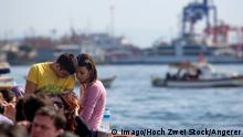 Türkei junges Pärchen in Istanbul