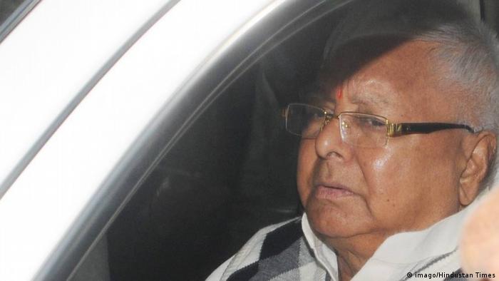 Indien Lalu Prasad Yadav (imago/Hindustan Times)