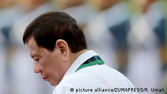 Philippinen - Präsident Rodrigo Duterte (picture alliance/ZUMAPRESS/R. Umali)