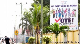 Liberia Wahlen 2017 - Wahlplakat