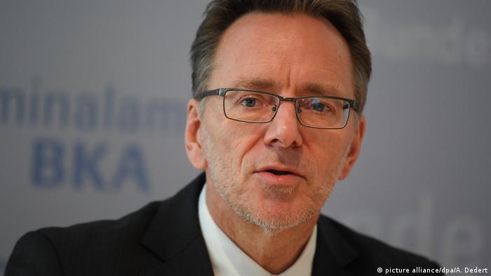 Holger Münch, head of the BKA