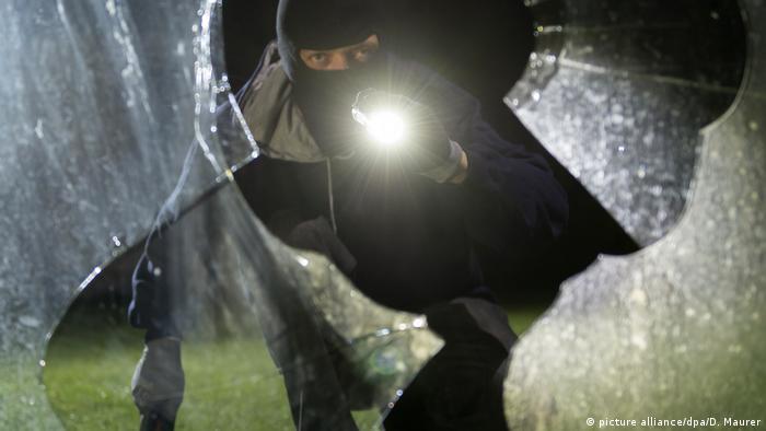 Wohnungseinbruch - Einbrecher