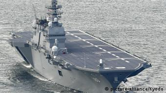 Japan helicopter carrier Izumo (picture-alliance/Kyodo)