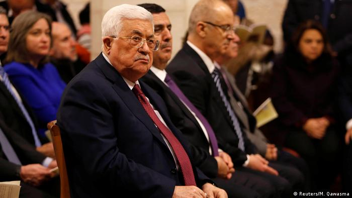 Bethlehem Christmesse in der Geburtskirche - Mahmoud Abbas (Reuters/M. Qawasma)