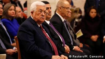 Bethlehem Christmesse in der Geburtskirche - Mahmoud Abbas