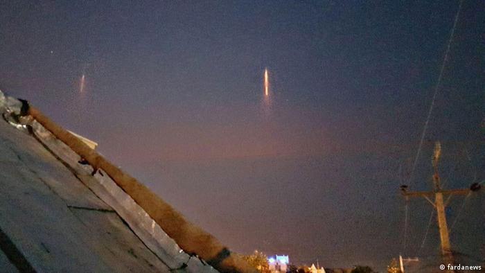 Iran - Unbekanntes Lichtobjekt n Shushtar