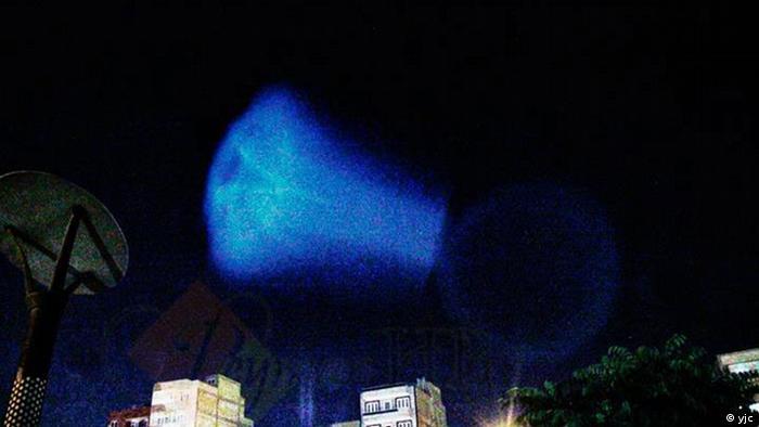 Iran - Unbekanntes Lichtobjekt in Tebriz