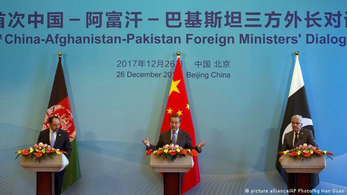 China, Pakistan und Afghanistan vereinbaren Zusammenarbeit in Anti-Terror-Kampf
