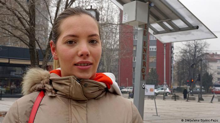 Jovana Đorđević, Studentin aus Nis, Serbien