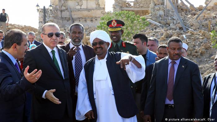 Sudan Der türkische Präsident Erdogan auf Staatsbesuch