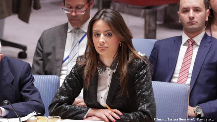 UN-Sicherheitsrat serbische Justizministerin Nela Kuburovic (Imago/Europa Newswire/L. Rampelotto )