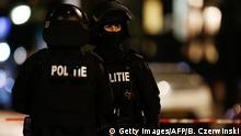 Niederlande Rotterdam Polizisten