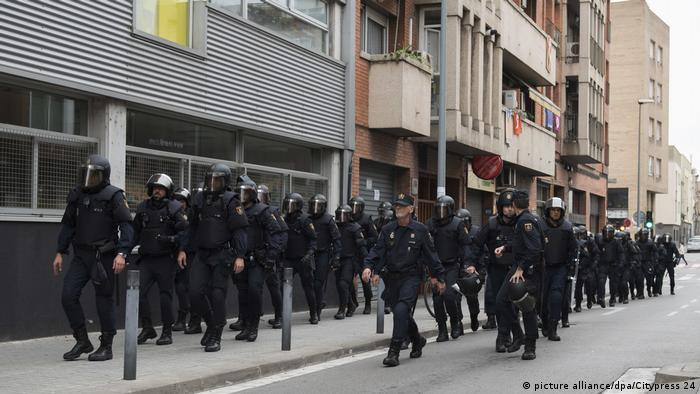 22 detenidos en Cataluña por desvío de fondos públicos para la independencia