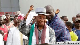 Liberian Vice President Joseph Boakai (Reuters/T. Gouegnon)