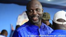 Liberia Wahlen George Weah (picture alliance/dpa/epa/A. Jallanzo)