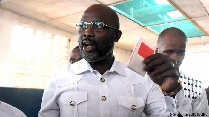 Liberian president-elect George Weah (Getty Images/S. Seyllou)