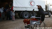 Syrien Ost-Ghouta Hilfsorganisation