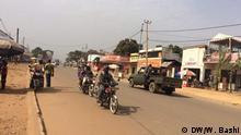 DR Kongo Alltagsleben in Beni in der nähe von dem Kreisverkehr Nyamwissi