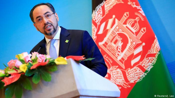 China - Afghanischer Außenminister Salahuddin Rabbani