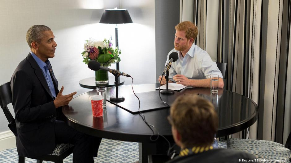 Prinz Harry interviewt Obama
