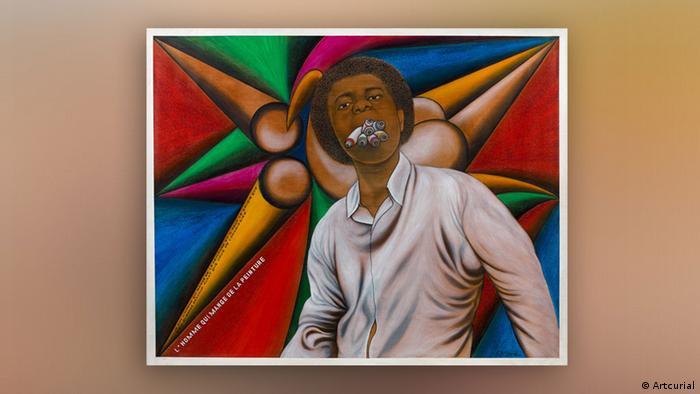 Chéri Samba: L'homme qui mange de la peinture (Artcurial)