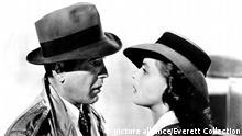 CASABLANCA, Humphrey Bogart, Ingrid Bergman, 1942   Keine Weitergabe an Wiederverkäufer.