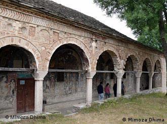 Ndertësë kishtare në Voskopojë