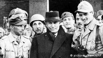 Mussolini i shpëtuar fillimisht nga burgimi nga gjermanët