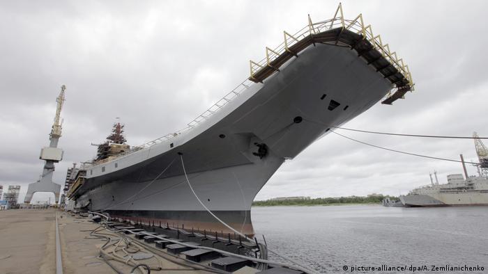 Modernisierung des Flugzeugträgers Admiral Gorschkow für indische Kriegsmarine