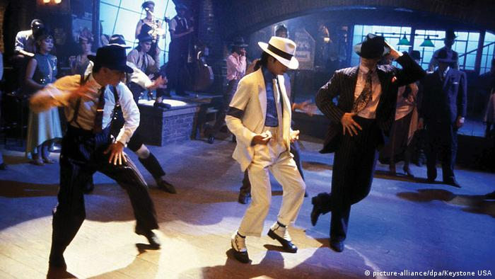 Michael Jackson Film Moonwalker 1988 (picture-alliance/dpa/Keystone USA)