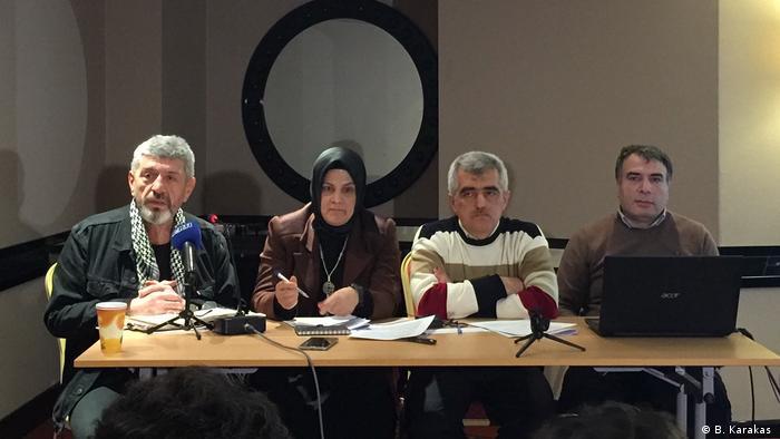 Prof. Dr. Cihangir İslam, Nurten Ertuğrul, Ömer Faruk Gergeroğlu, Doç. Dr. Bayram Erzurumoğlu