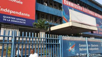 Demokratischen Republik Kongo | Wahlkommision | (DW/F. Quenum)