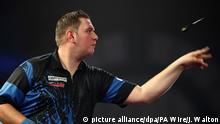 UK Darts Weltmeisterschaft Kevin Münch