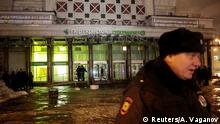 Russland St Petersburg - Explosion in Supermarkt