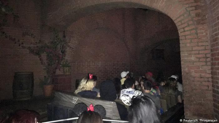 Disneyland blackout in California