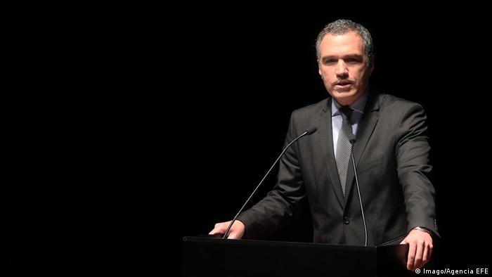 Peru's former Culture Minister Salvador Del Solar