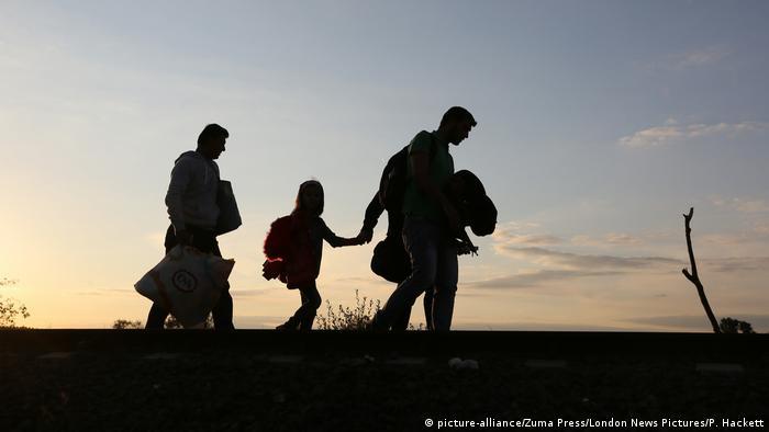 Ungarn Grenze zu Serbien - Flüchtlinge
