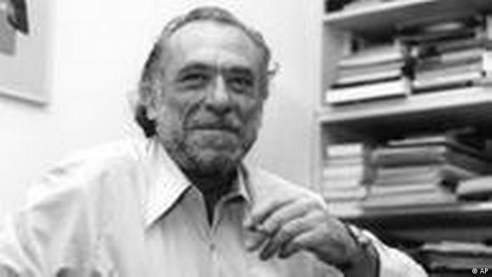 Der Schriftsteller Charles Bukowski