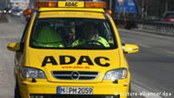 Скорая техпомощь клуба ADAC