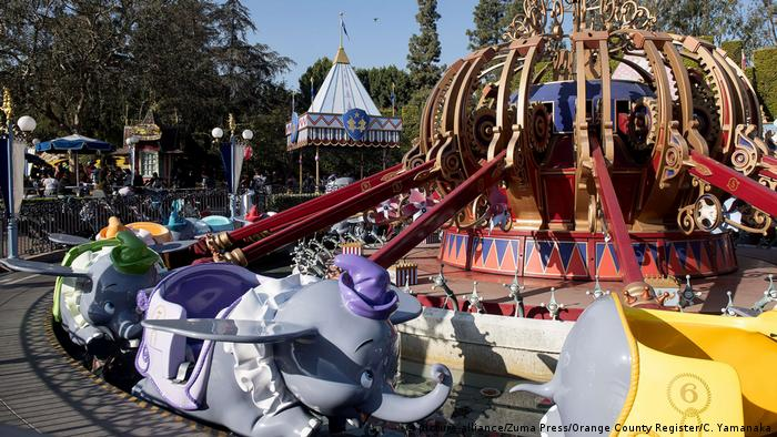 Dumbo the Flying Elephant merry-go-round