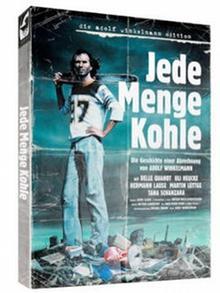 Cover der DVD Jede Menge Kohle, Mann mit großer Motorsäge auf der Schulter