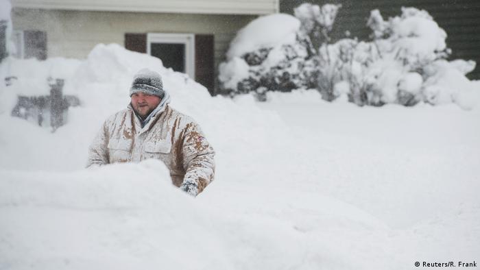 USA Winter 2017 - Rekordschnee in Erie, Pennsylvania (Reuters/R. Frank)