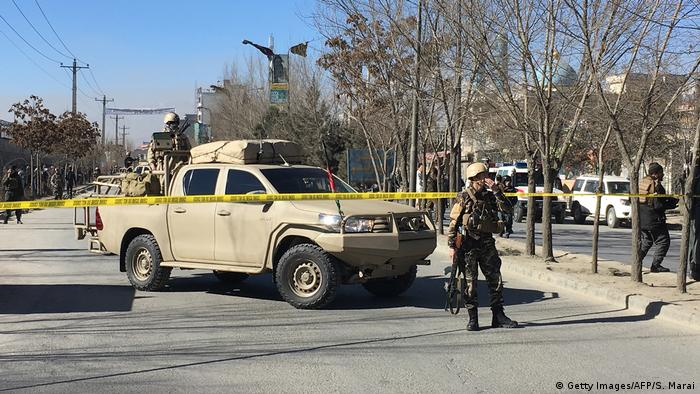 Attack in Kabul on Thursday, December 28 (Getty Images/AFP/S. Marai)