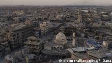 Mossul Irak Zerstörung Aufbau
