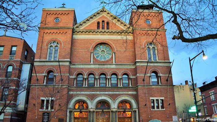 Our Lady of Mt. Carmel Church in Bronx, New York