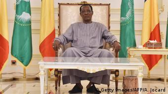 Tschad Präsident Idriss Déby Itno (Getty Images/AFP/A. Jocard)