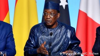 Präsident Tschad - Idriss Déby Itno (UImago/Xinhua/C. Yichen)